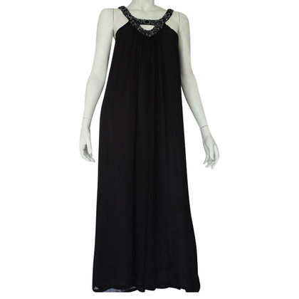 Antik Batik Maxi-Kleid in Schwarz
