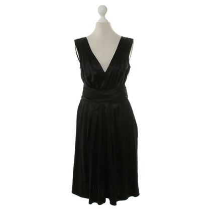 DKNY Silk dress in black