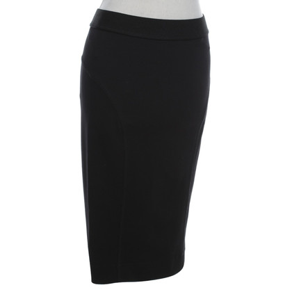 By Malene Birger Jersey-skirt in black