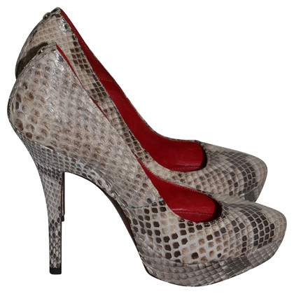 Cesare Paciotti Pumps Python leather