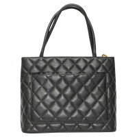 "Chanel ""Medaillon Tote"" aus Kaviarleder"