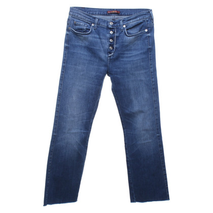 7 For All Mankind Jeans dans le regard détruit