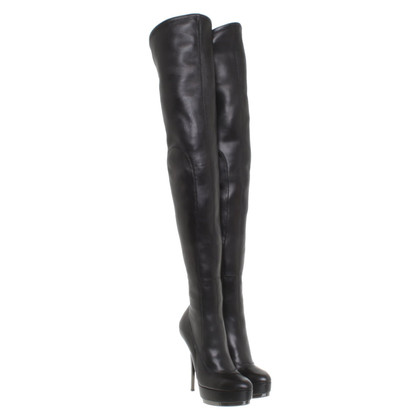 Gucci Overknee boots made of leather