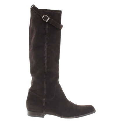 Unützer Boots in Dark Brown