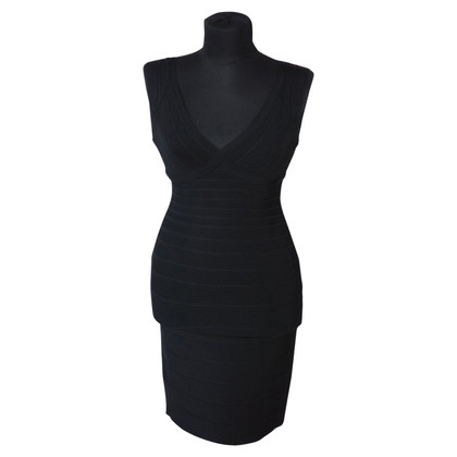 Hervé Léger Bandage dress in black