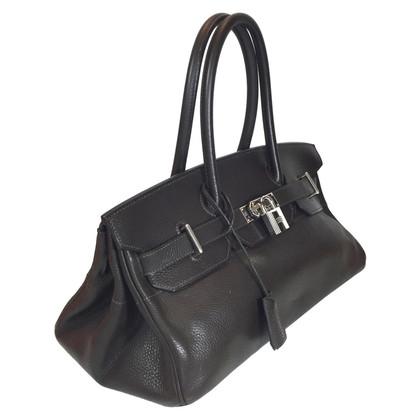 "Hermès ""Shoulder Birkin 40 Clémence Leather"""