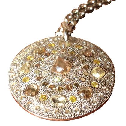 De Beers Chaîne avec médaillon