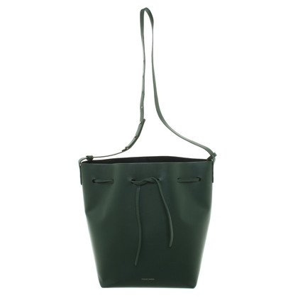 Mansur Gavriel '' Bucket Bag '' in donkergroen