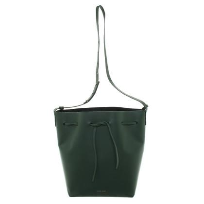 Mansur Gavriel ''Bucket Bag'' in Dunkelgrün