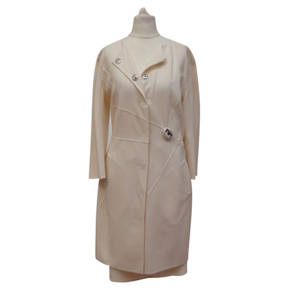 Christian Dior  Wool coat with skirt