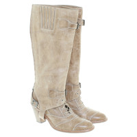 Belstaff Leather boots in beige