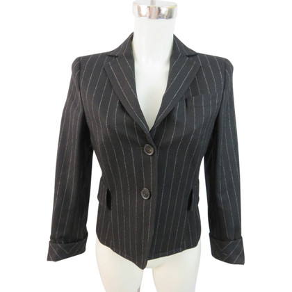 Akris Wool Blazer with Pinstripe