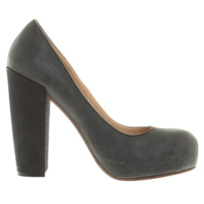 Acne Plateau-Pumps in Gray