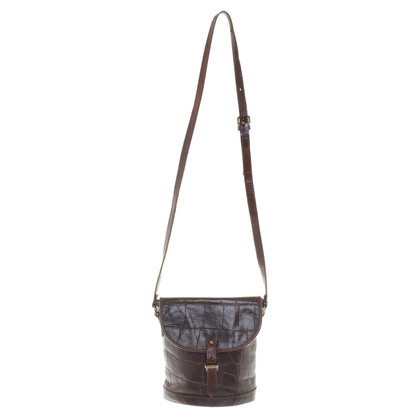 Mulberry Shoulder bag with reptile embossing