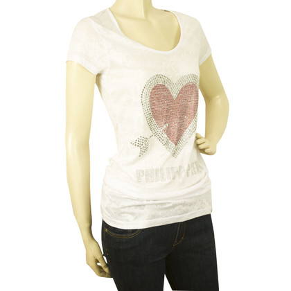 Philipp Plein T-shirt with heart motif
