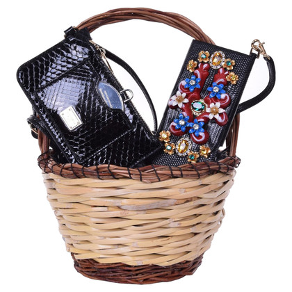 "Dolce & Gabbana Basket bag ""Agnese"" with Holder"