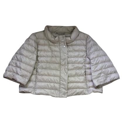 Max Mara Quilted jacket in beige