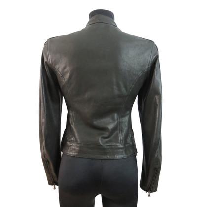 Blauer USA Leather jacket in bikerlook