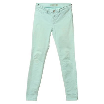 J Brand Jeans in menta verde