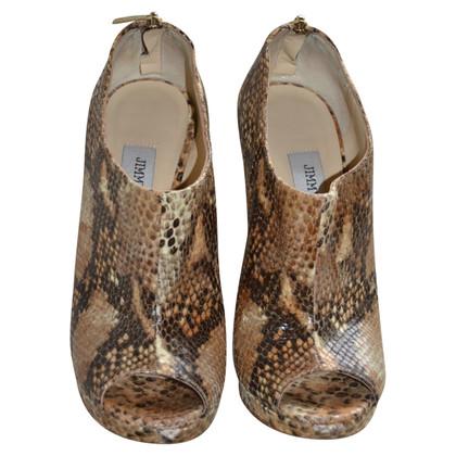 Jimmy Choo python laarzen