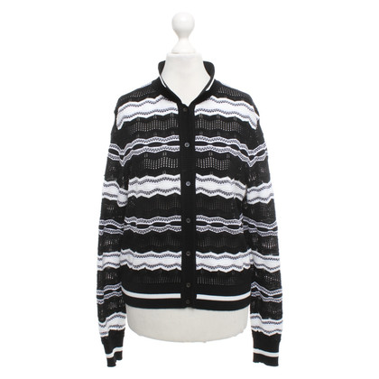 Missoni Vest in zwart / wit