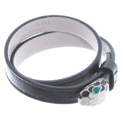 Bulgari Armband aus Leder