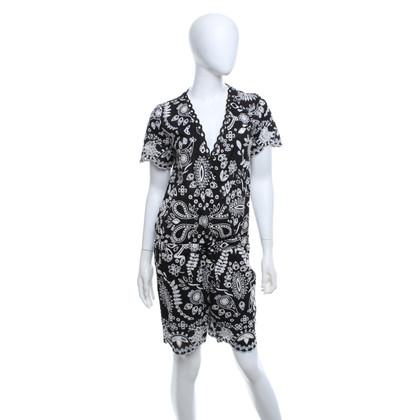 Valerie Khalfon  Jumpsuit in zwart / wit