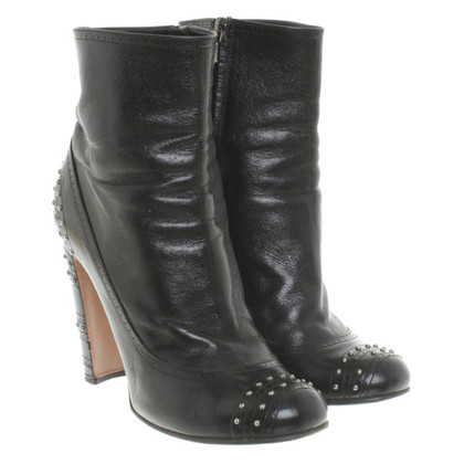 Prada Ankle boots with studs