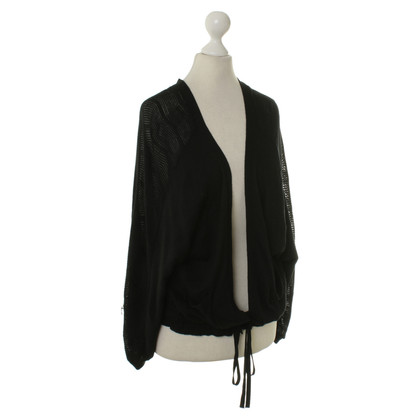 Friendly Hunting Knitted Cardigan in black