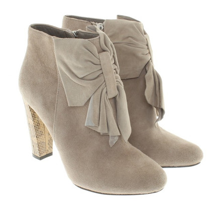 Reiss Beige suede ankle boots