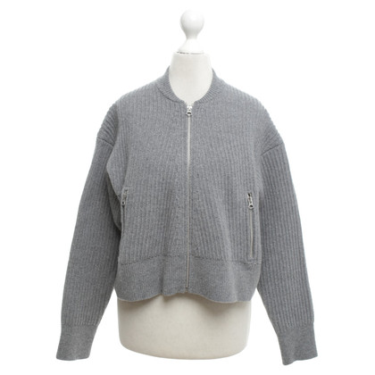 Acne Short cardigan in grey