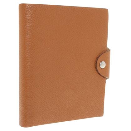 Hermès Notebook in Cognac