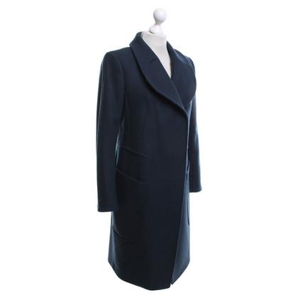 Carven Manteau en bleu foncé