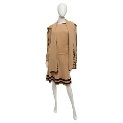 Sonia Rykiel 3-piece set in beige / black