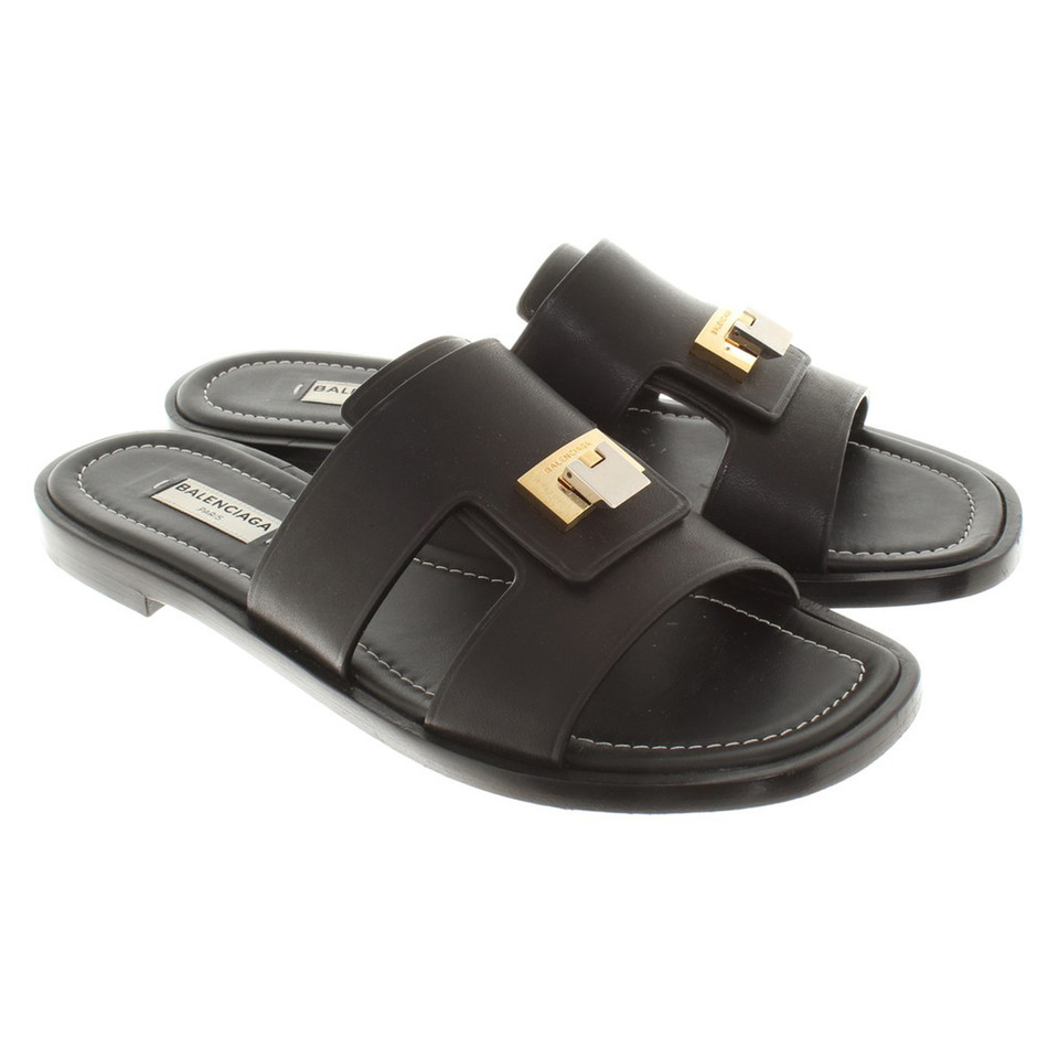Balenciaga Sandals in black