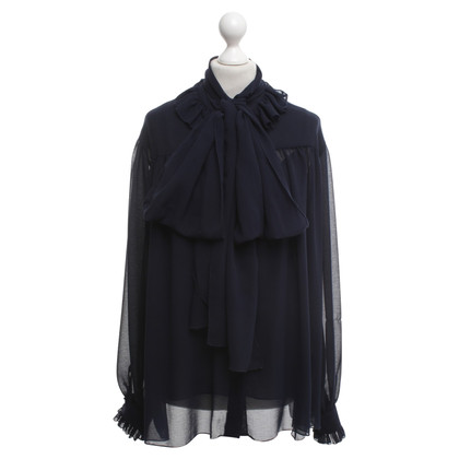 See by Chloé Ruffled blouse with a collar collar