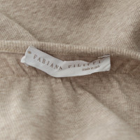 Fabiana Filippi T-shirt en nude / gris