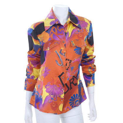 Versace Satin blouse