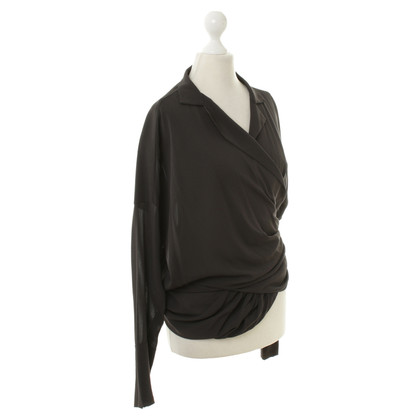 Donna Karan Blouse in anthracite