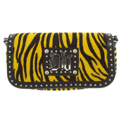 Versace clutch in yellow