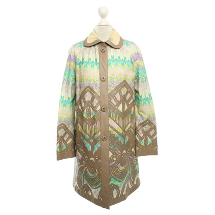 Missoni Coat with floral pattern