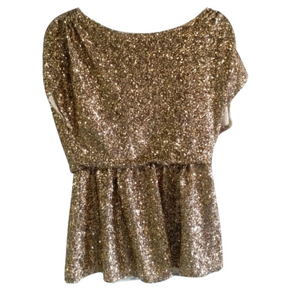 Alice + Olivia Top con paillettes