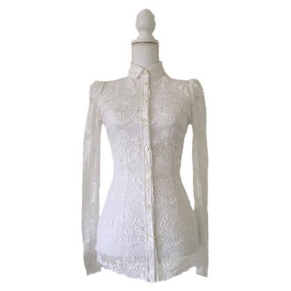 Dolce & Gabbana kanten blouse