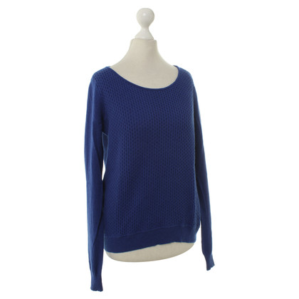 Theory Maglione di cashmere in Blu Royal