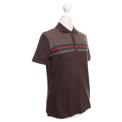Gucci Poloshirt mit Muster
