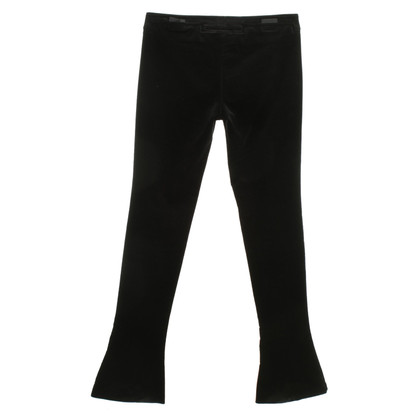 Gucci Velvet Pants in Black