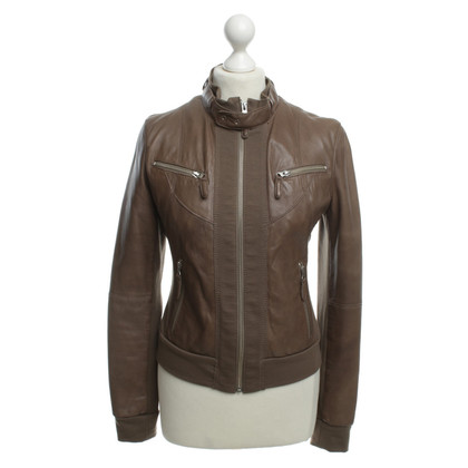 Arma Leather bomber jacket