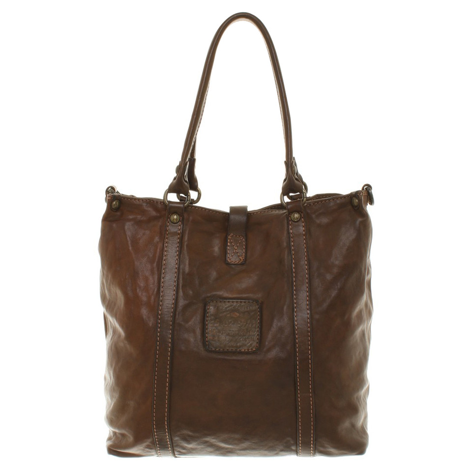 campomaggi ledertasche mit applikation second hand campomaggi ledertasche mit applikation