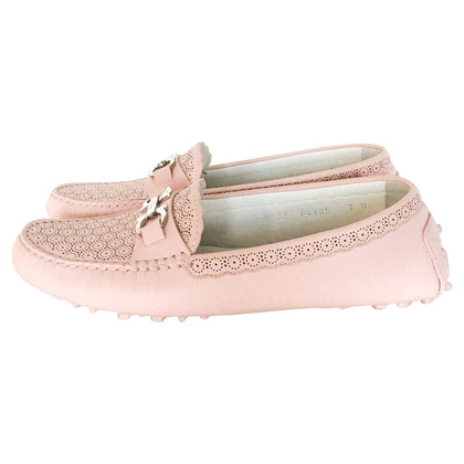 Salvatore Ferragamo Loafer with lace pattern