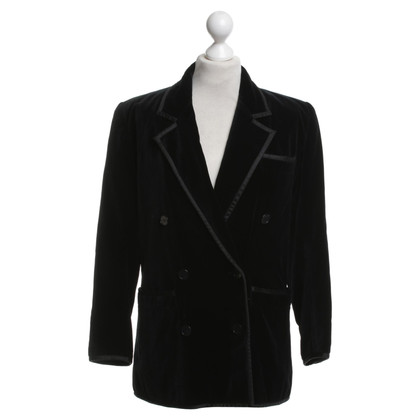 Yves Saint Laurent Blazer en velours